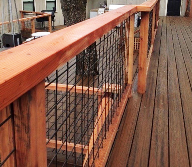 Wild Hog Railing | Weekes Forest Products