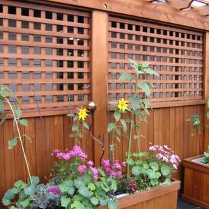 Cedar Lattice Panels Weekes Forest Products