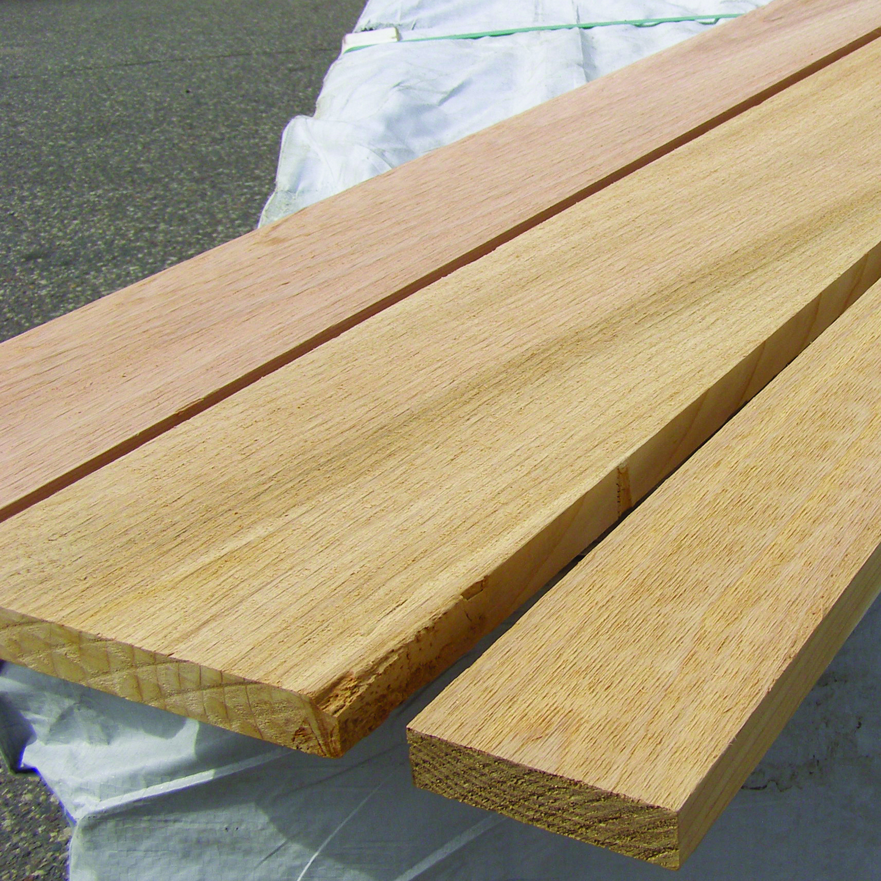 Clear D & Better Cedar Boards