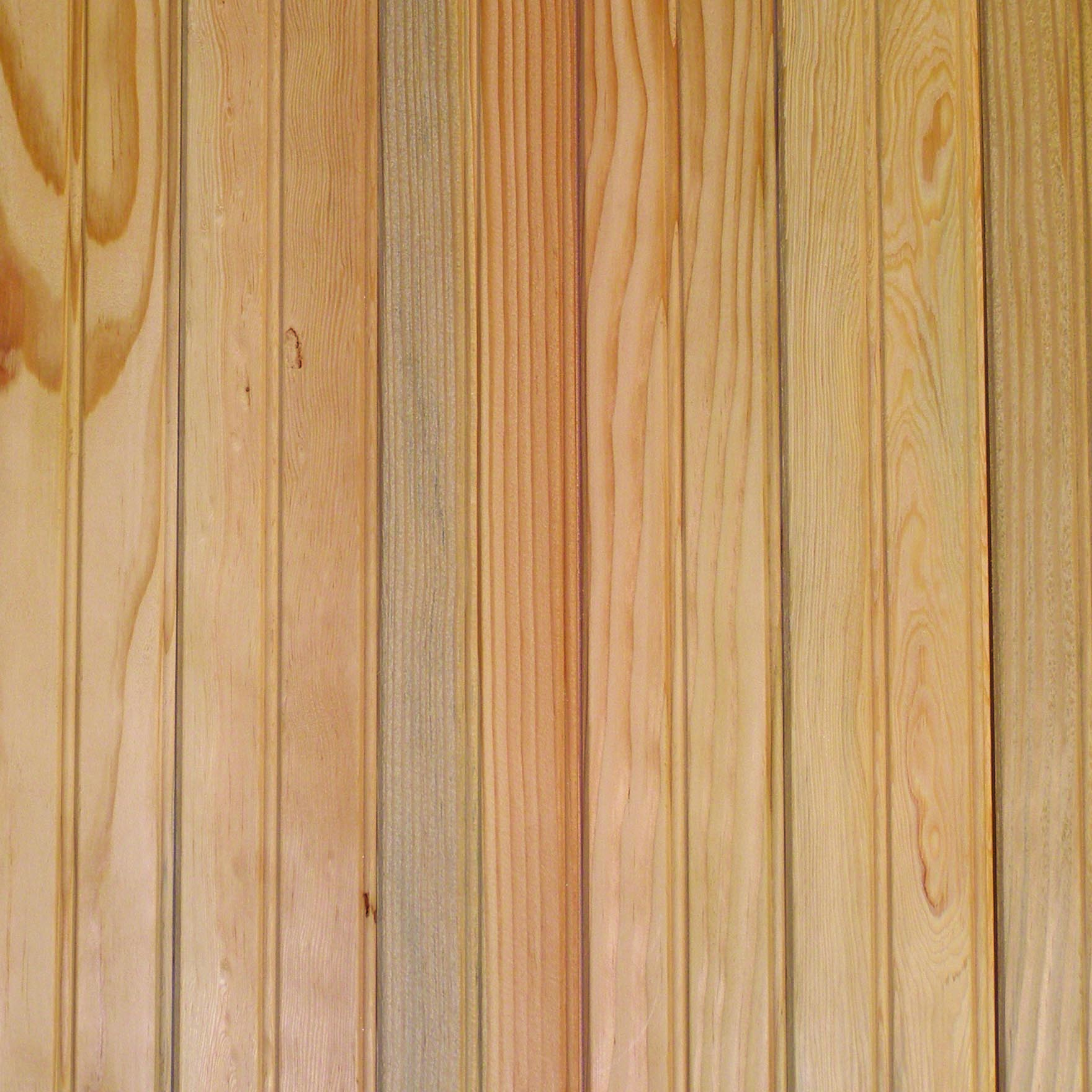 Clear Douglas Fir Finish & Pattern
