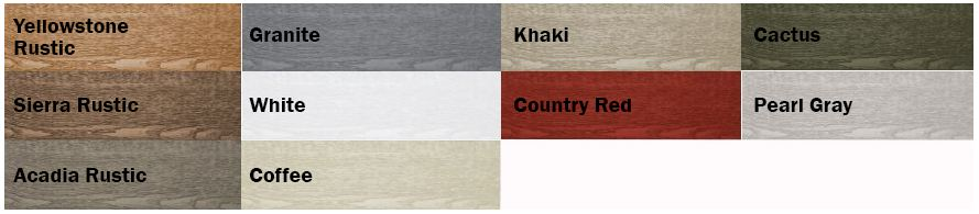 Eco-Side Color Options