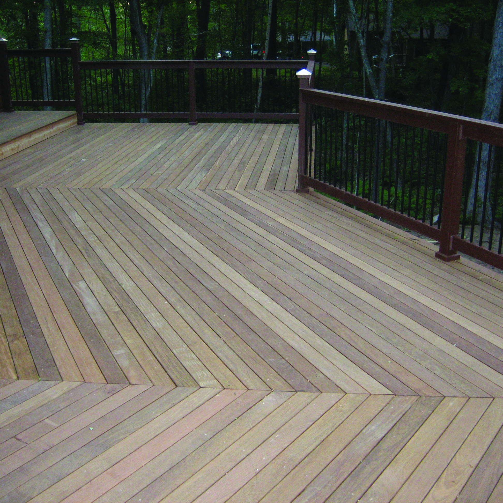 Signature ip hardwood decking weekes forest products for Hardwood decking supply