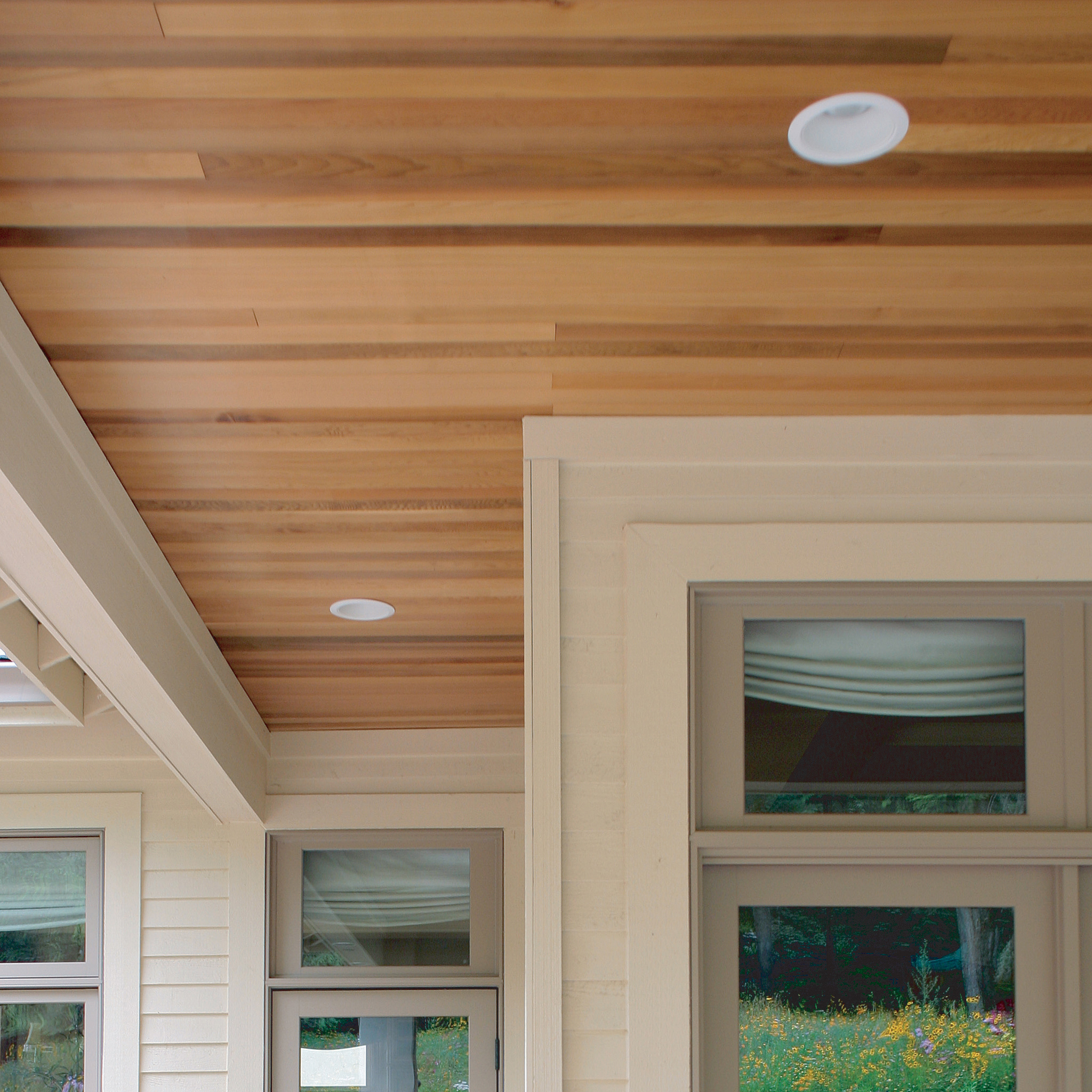 Clear Cedar Pattern For Ceilings