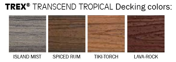 TEST   Trex Transcend Decking-FL   Weekes Forest Products
