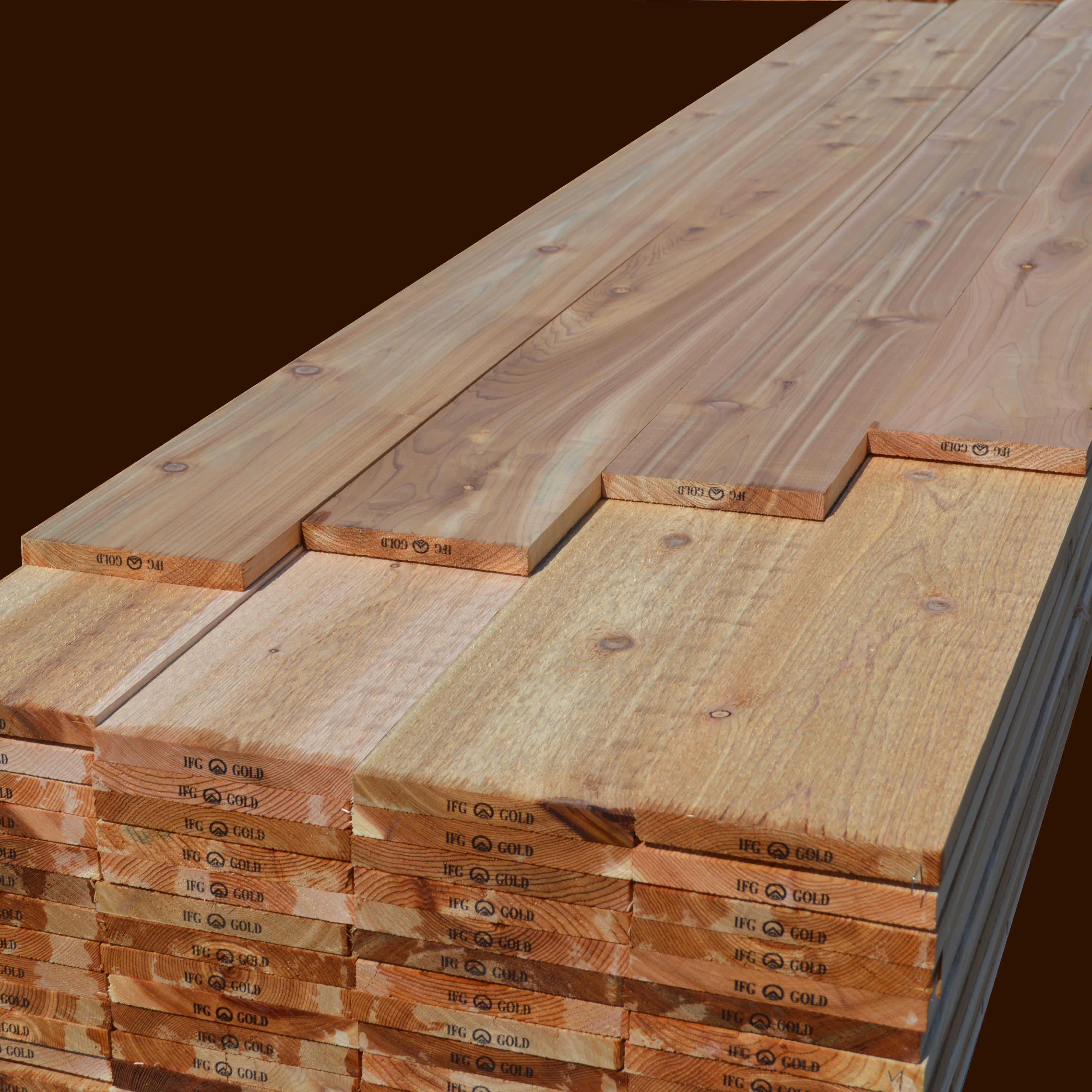 Western Red Cedar Boards