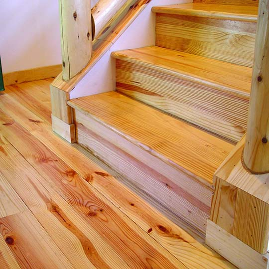 Southern Pine Stair Treads