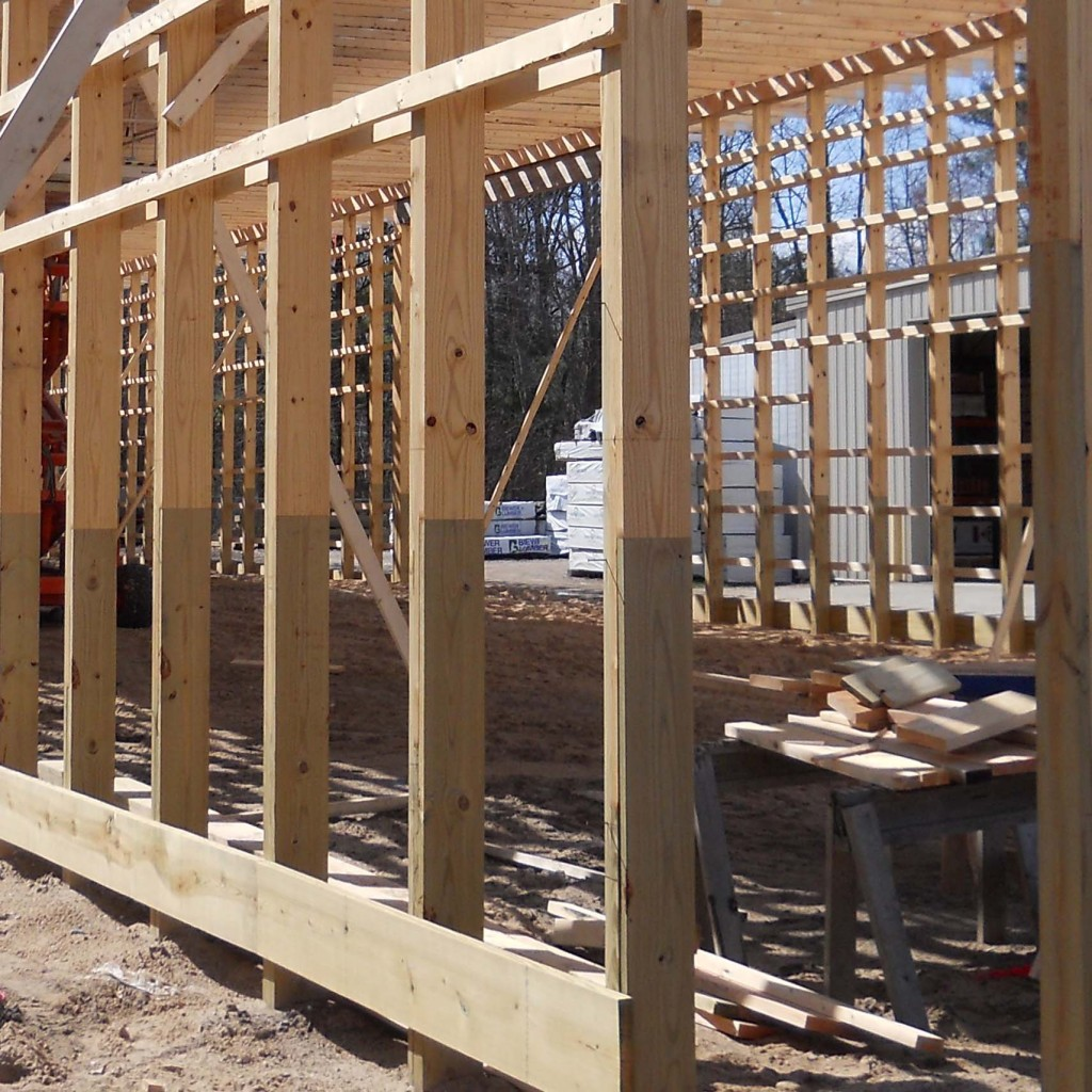 Engineered Post Frame Columns | Weekes Forest Products