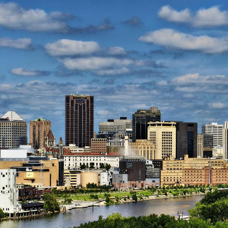 Saint Paul Skyline