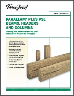 Parallam Beams Amp Columns Weekes Forest Products