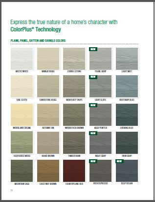 Types of vinyl siding