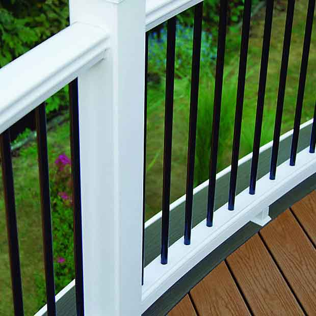 Trex Select Railing Fl Mi Weekes Forest Products