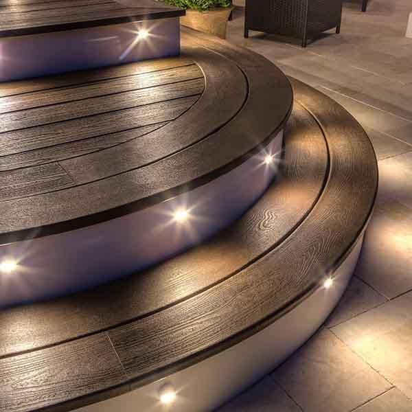 Trex Stair Light: Trex Outdoor Lighting-MI