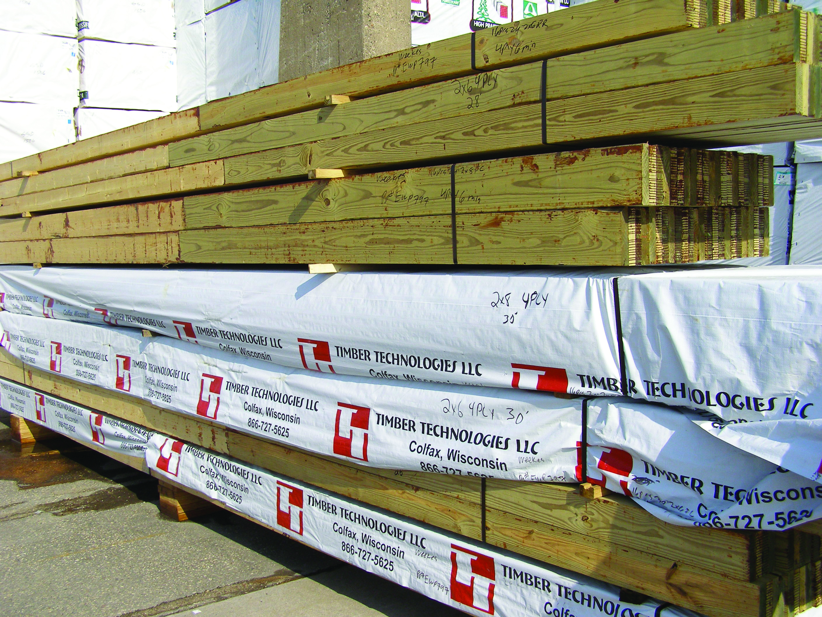 Timber Technologies EWP Post Frame Columns