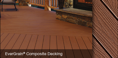 Tamko Evergrain Composite Decking