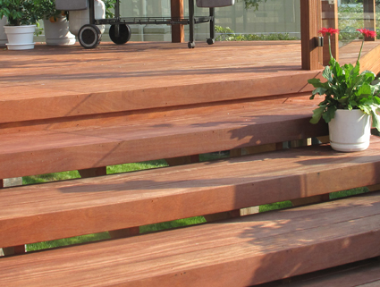 Brazilian Teak Cumaru Hardwood Decking Weekes Forest